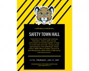 Cummings Elementary Safety Town Halll