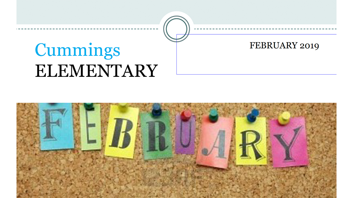 Cummings Newsletter February 2019