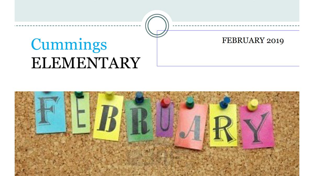 Cummings Newsletter February 2019